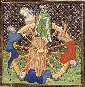 Medievel Image of The Wheel of Fortune