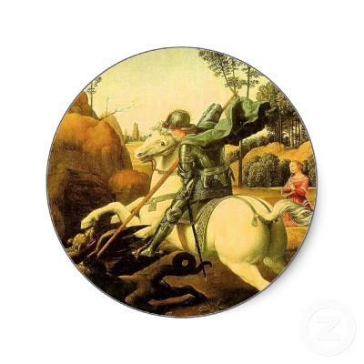 raphaels george and the dragon circa1505 Public Domain