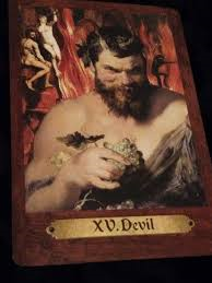 Devil card touchstone tarot