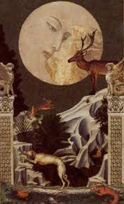 kat black moon golden tarot