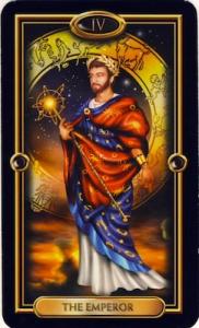 tarot-the-emperor gilded