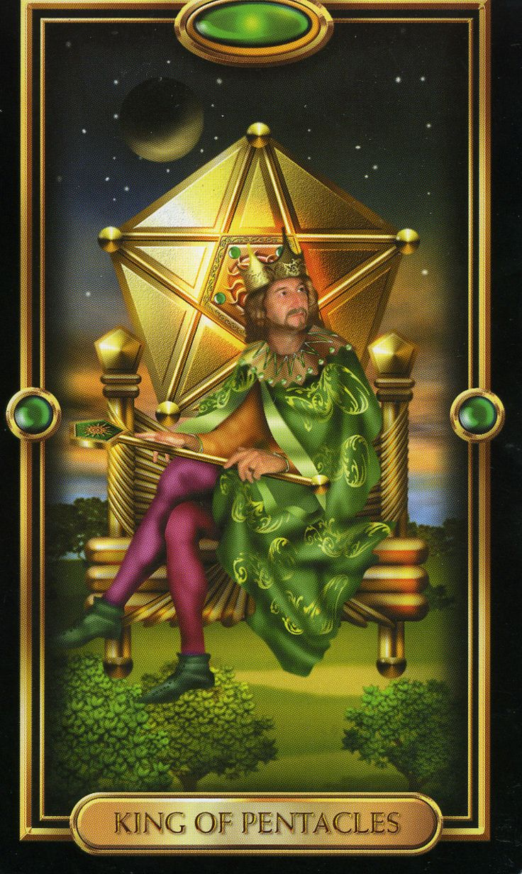 King Pentacles