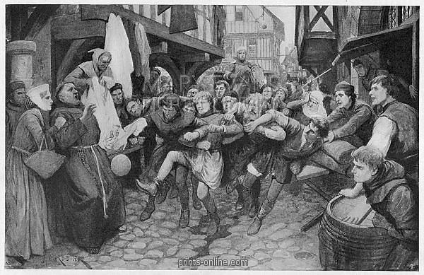 FOOTBALL IN MIDDLE AGES
