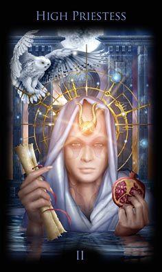 high priestess legacy divine tarot