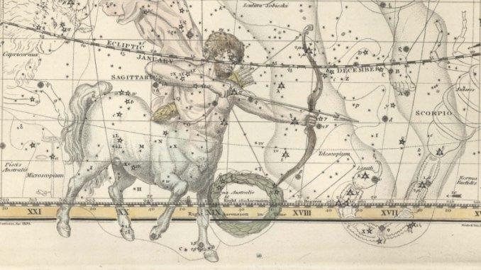 Sagittarius Celestial Atlas 1822.jpg